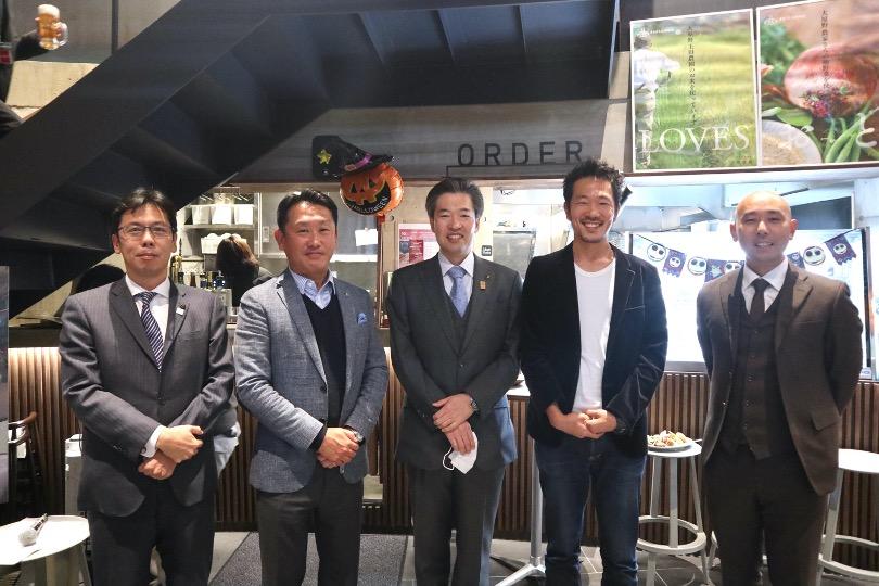 グッドデザイン賞受賞記念トークセッション、向日市長、長岡京市長
